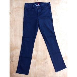 Elle Paris dark blue wash skinny jeans 10